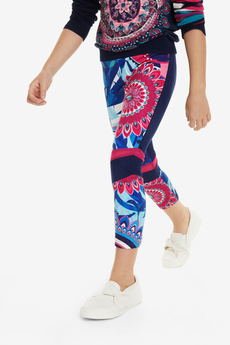 Psychedelic Leggings Pawpaw