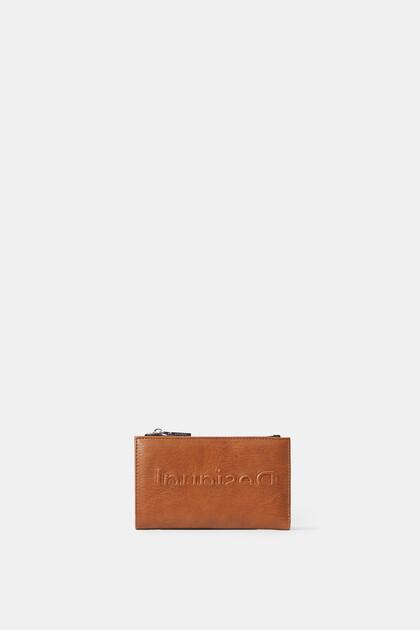 ロゴ 長財布