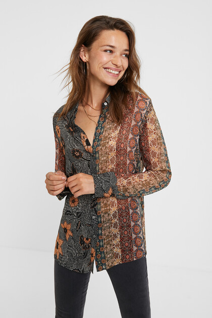 Boho shirt Lurex