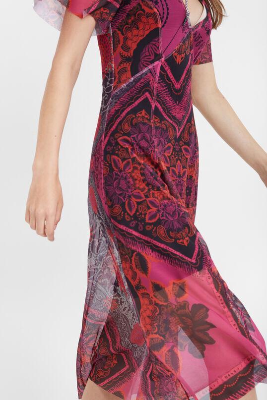 Floral tulle dresses | Desigual