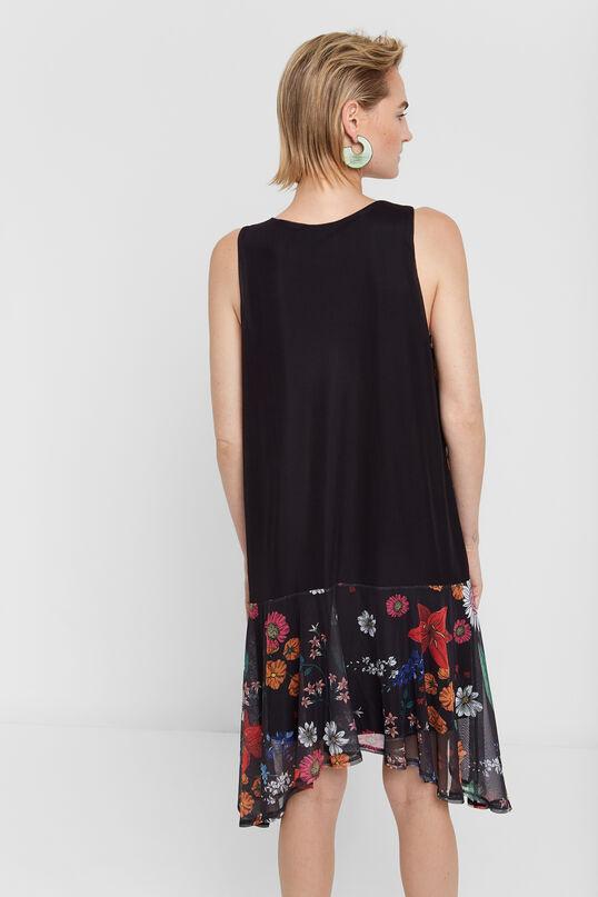 Robe tulle fleurie | Desigual