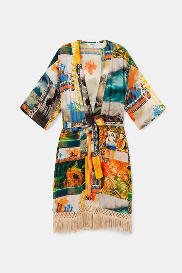 Kimono eko w hawajskim stylu | Desigual