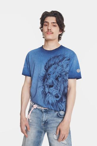 T-Shirt mit großem Bolimania-Löwen