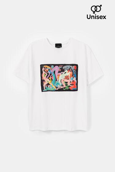 Miranda Makaroff 絵画 オーガニックTシャツ | Desigual