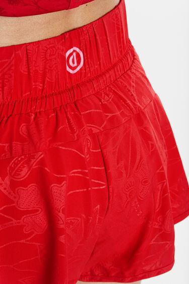 Pantalons curts de running evasé | Desigual