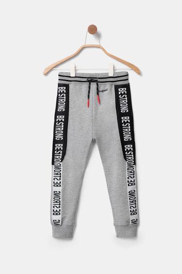 Pantalons xandall amb missatge | Desigual