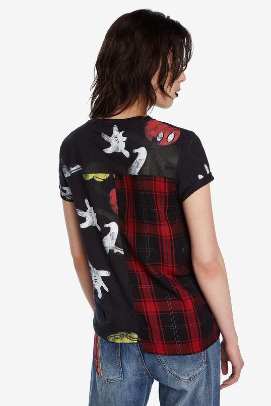 T-shirt Mickey Mouse tartan | Desigual