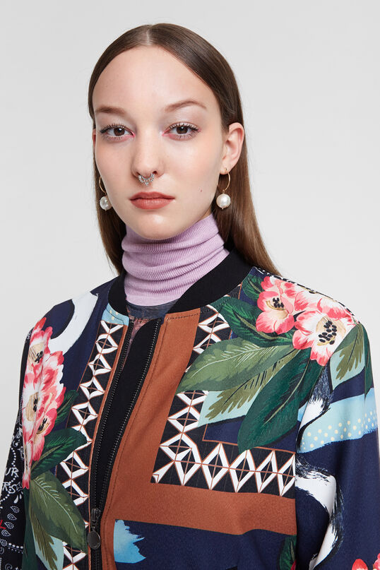 Boho patch jacket | Desigual