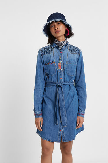 Denim shirt dress | Desigual