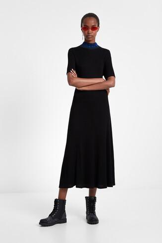 promo code 10f1f c9878 Vestito chemisier in maglia