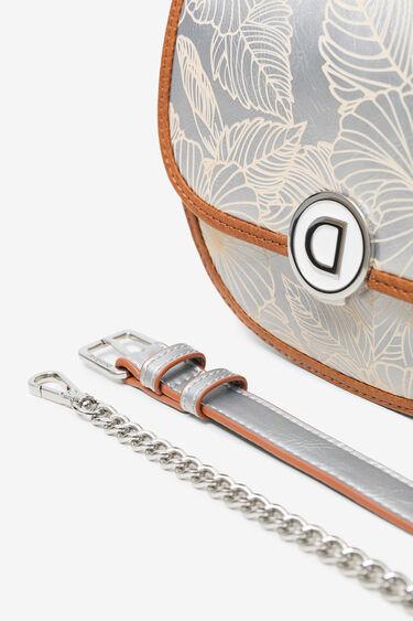 Floral silver bum bag | Desigual