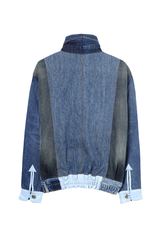 Iconic Jacket retalls denim | Desigual