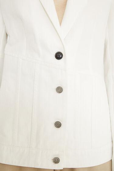 Hybride denim blazer | Desigual