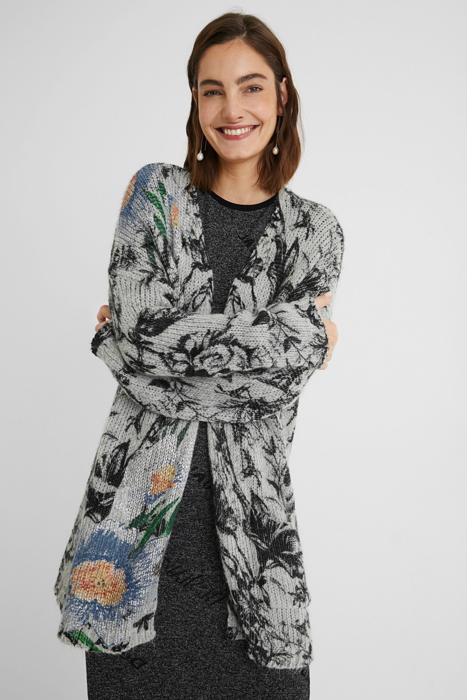 Maglia aperta in tricot oversize | Desigual