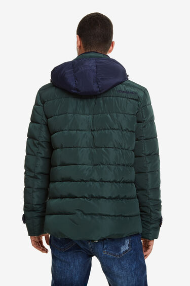 Double breasted parka | Desigual