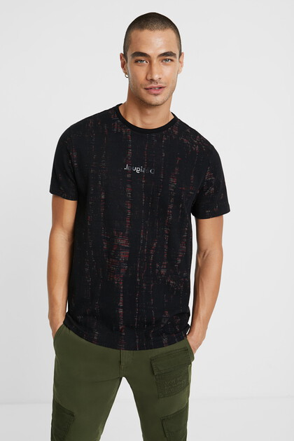 Jacquard devoré T-shirt
