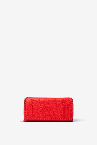 Podłużny portfel z motywami mandali | Desigual