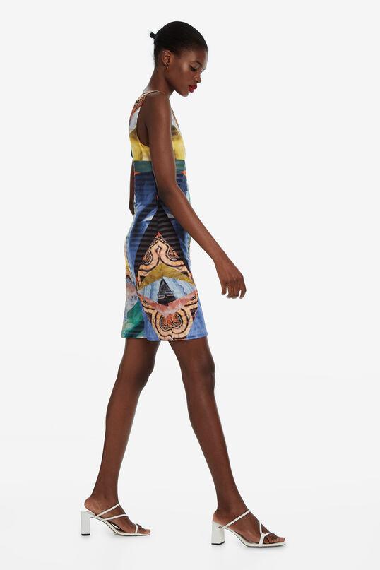 Korte abstracte jurk Minerva | Desigual