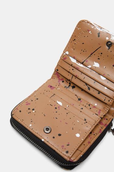 Square coin purse splashes | Desigual