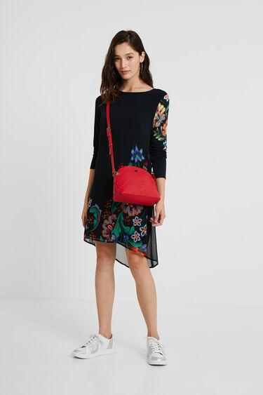 Vestido multicapas floral | Desigual