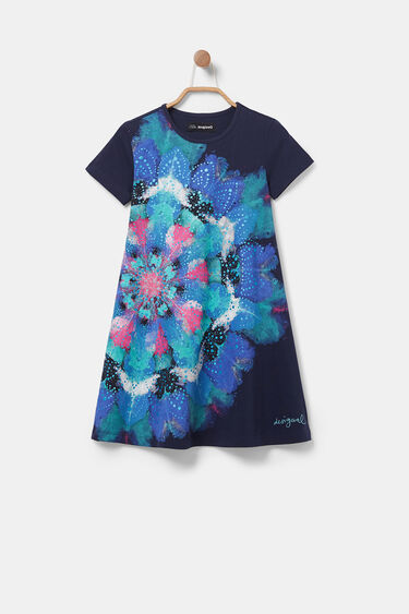 Pleasant touch T-shirt dress | Desigual