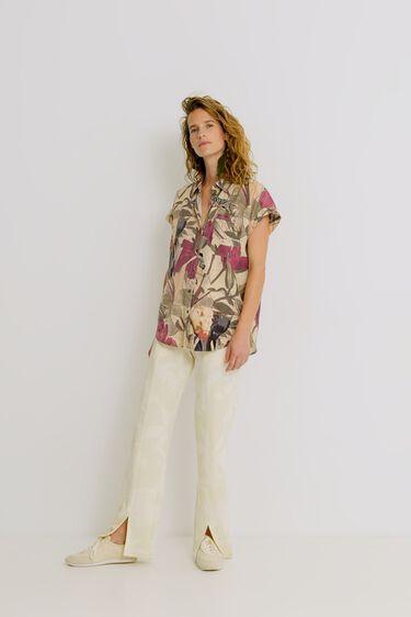 Camisa tencel safari | Desigual