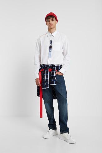 Shirt slim 100% katoen