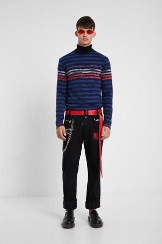 100% cotton striped T-shirt
