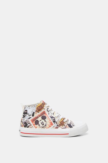 Halfhoge sneakers met Mickey Mouse