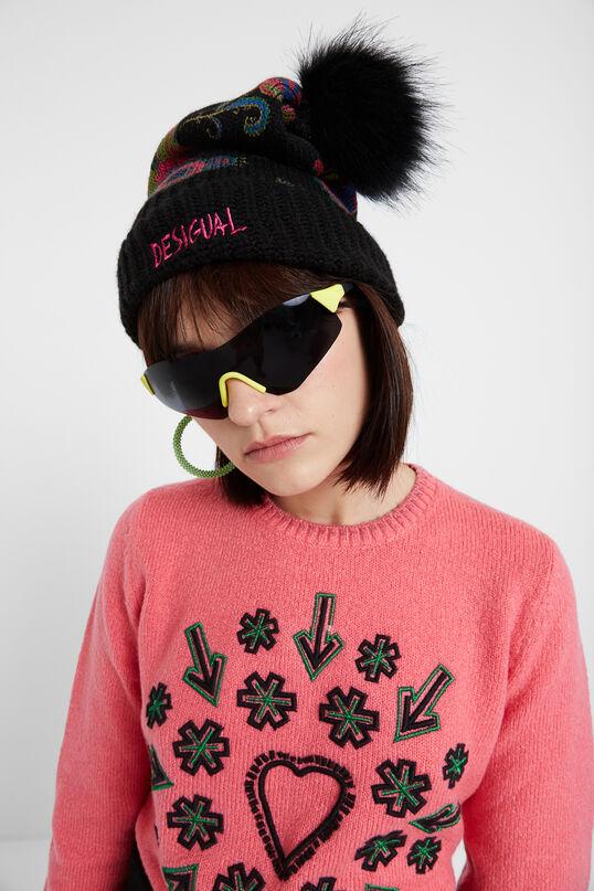 Bonnet en tricot Paisley | Desigual
