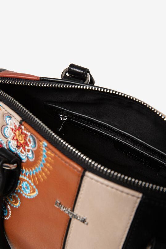 Mini cylinder bag PU leather | Desigual