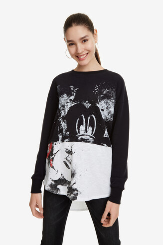 Mickey Mouse Print Jumper Mickey