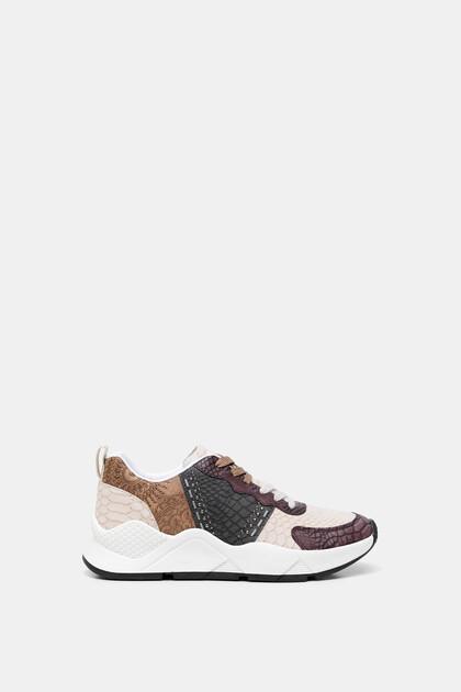 Sneakers reptile patch mandalas