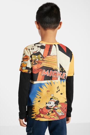 Camiseta algodón doble manga | Desigual
