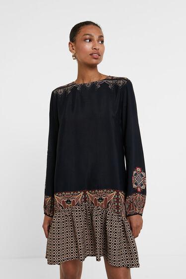 Boho short dress   Desigual