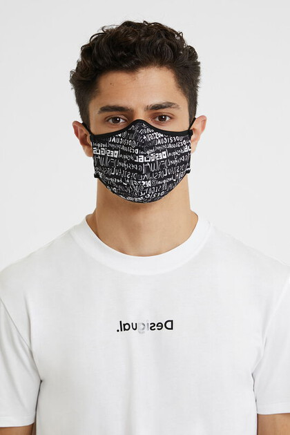 Reversible lettering mask + pouch