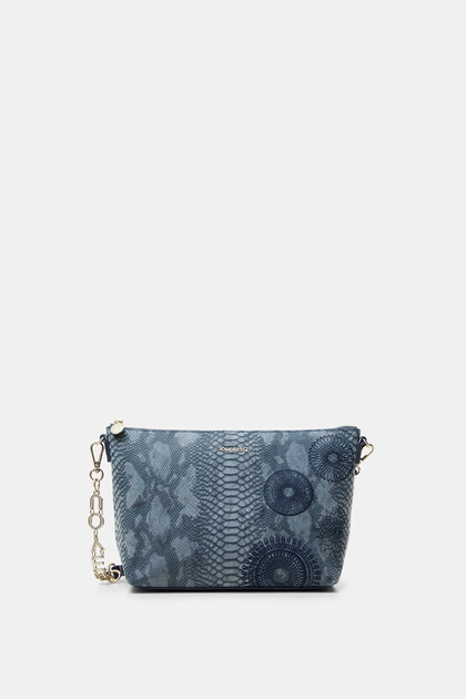 Little sling bag snakeskin effect