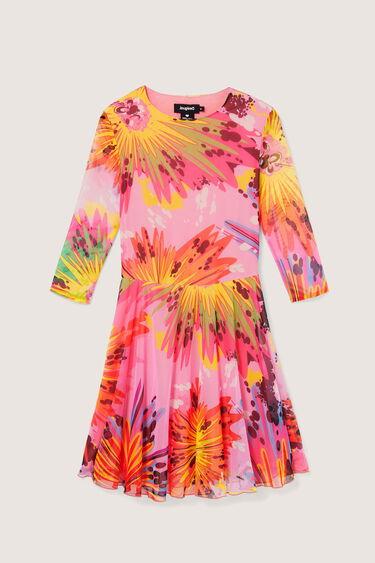 Short dress 3/4 sleeve | Desigual