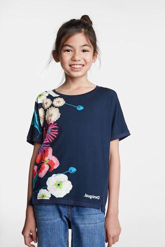 Samarreta estampat floral