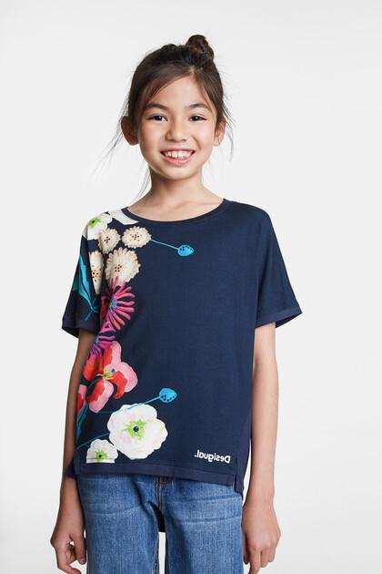 T-shirt studs flowers
