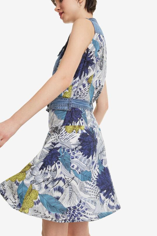 Denim waistcoat dress Delaware | Desigual
