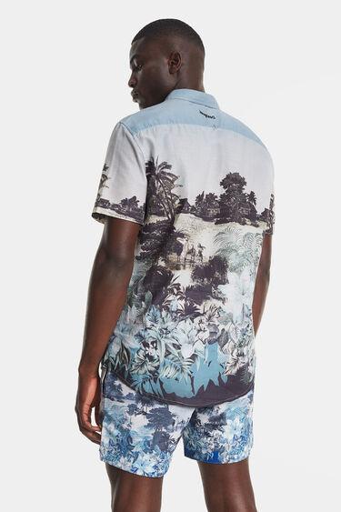 Shirt Balinese landscape | Desigual