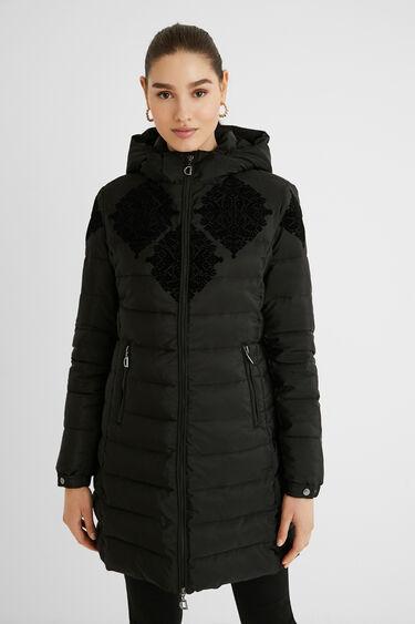 Slim padded jacket | Desigual