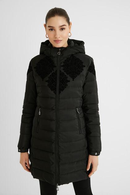 Slim padded jacket