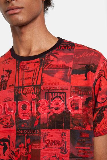 Hawaiian postcards T-shirt | Desigual