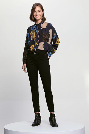 Camisa oversize estampada | Desigual