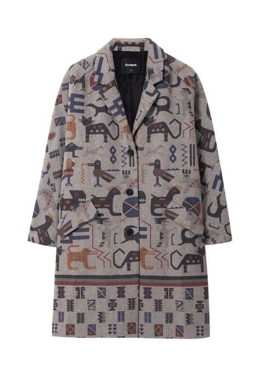 Zhu Coat | Desigual