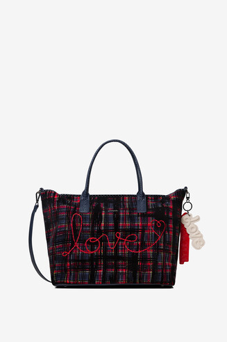 Tartan shopping bag
