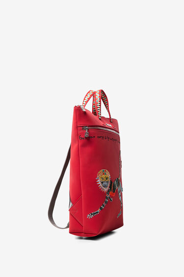 Monkey friezes backpack | Desigual