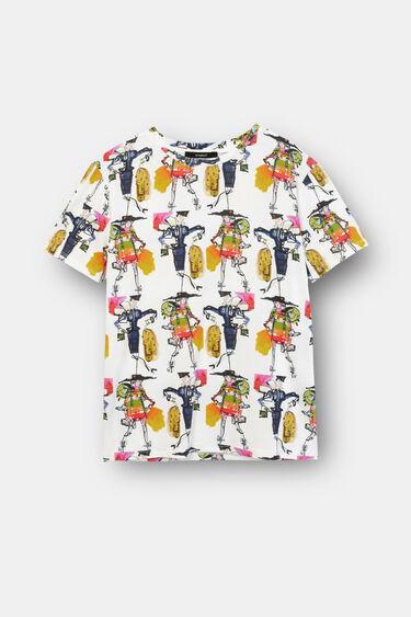 Koszulka ze 100% bawełny z motywem postaci | Desigual